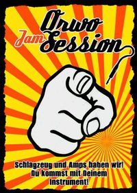 ORWO Jam Session Flyer